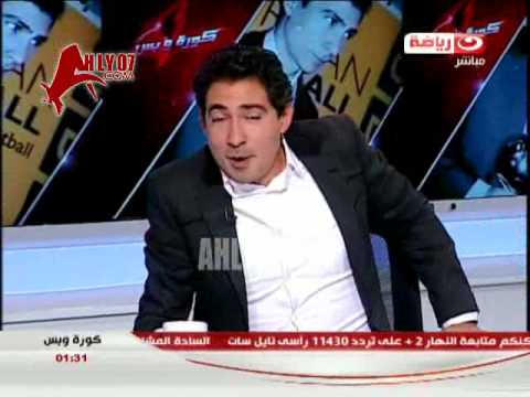 كوميديا: بركات يقلد حسام البدري واحمد فتحي في أزمة الخدود