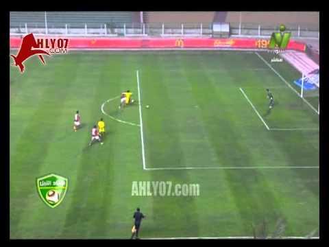 هدف الفوز للمقاولون العرب على الاهلي 2 ـ 1