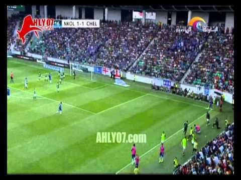 أهداف تشيلسي 2 أولمبيجا 1 ومحمد صلاح يصنع التعادل