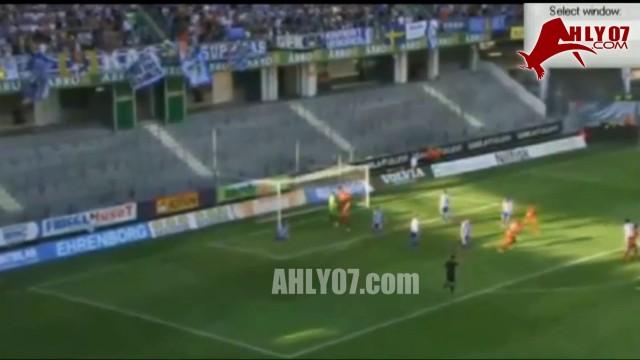 هدف كوكا في الدوري الاوروبي مع رايو افي ضد جوتنبرج