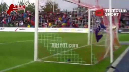 أول هدف لمحمود كهربا مع جراسهوبرز ضد اراو