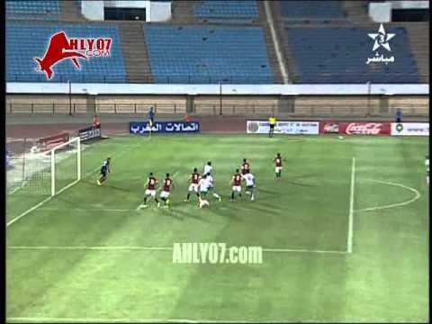 هدف منتخب مصر الاوليمبي الأول وديا في المغرب أحرزه كريم بامبو