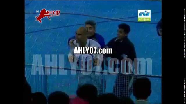 فيديو ـ ابراهيم حسن يسب ويبصق على جماهير الأهلي