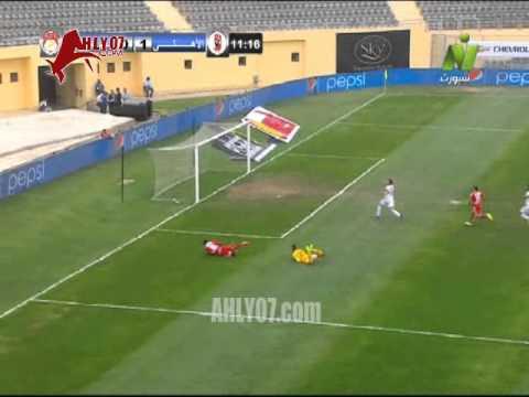 هدف الأهلي الأول في الرجاء مقابل 0 أحرزه بيتر ايبي في 31 مارس 2015