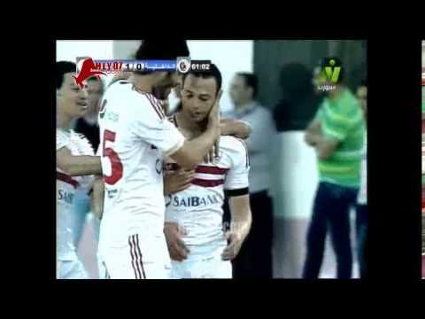 أهداف الزمالك 2 الداخلية 0 في الدوري 30 مارس 2015