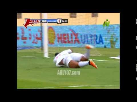 أهداف الأهلي 2 الرجاء 1 أحرزهم صلاح الدين وبيتر في 31 مارس 2015