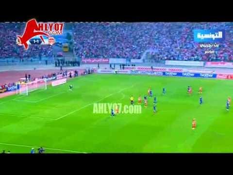 ايابا بتونس الشوط الثاني الأهلي والافريقي 1-2 كونفيدرالية 2015 دور ال16