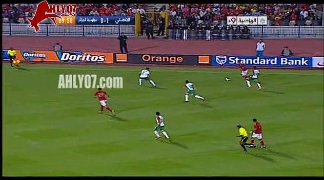 أهداف الأهلي 2 مولودية وهران 0 لمتعب في 12 أغسطس 2011