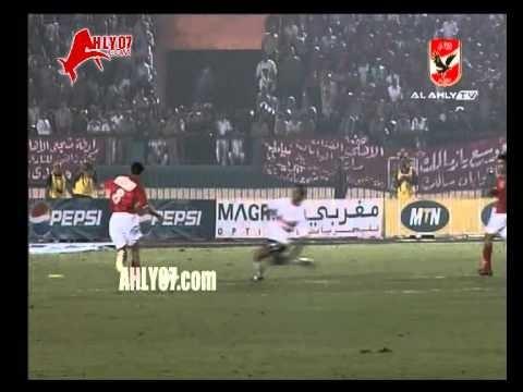 أهداف فوز الأهلي 2 الزمالك 0 لبركات اياب دوري ابطال افريقيا 2005