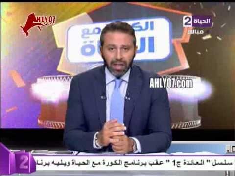 حازم امام بأدب يوضح تصريحاته الهجوميه ضد باسم مرسي