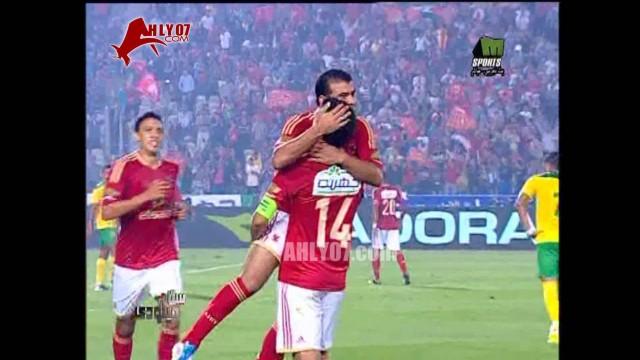 هدف الأهلي الأول في الجونة مقابل 0 متعب الدوري 23 اكتوبر 2011