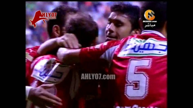 هدف الأهلي الثاني في الاتحاد السكندري مقابل 0 اسامه حسني الدوري 26 اكتوبر 2008