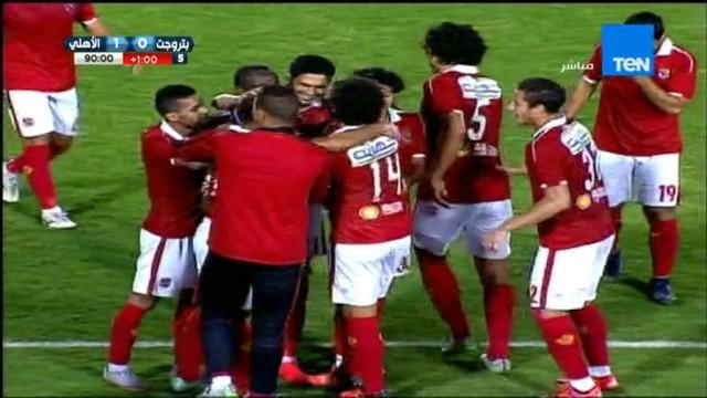 هدف الأهلي الأول في بتروجيت مقابل 0 متعب 1 نوفمبر 2015