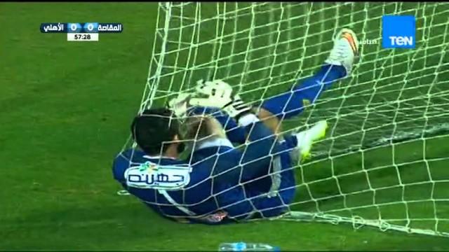 هدف فوز مصر المقاصة 1 الاهلي 0 الدوري 5 نوفمبر 2015