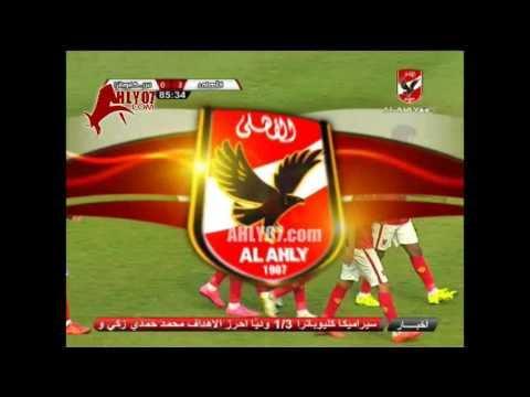 هدف الأهلي الثالث في سيراميكا كيلوباترا مقابل 0 عماد متعب وديا 12 نوفمبر  2015