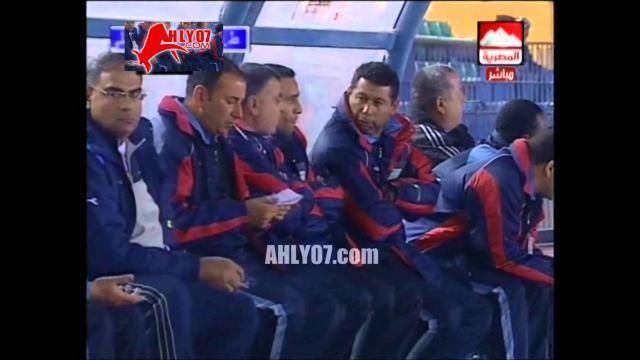 هدف الأهلي الأول في طلائع الجيش مقابل 0 أسامه حسني الدوري 14 ديسمبر 2007