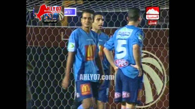 هدف الأهلي الأول في الألومنيوم مقابل 0 تريكة الدوري 6 ديسمبر 2007