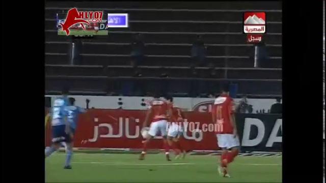 هدف الأهلي الثاني في الألومنيوم مقابل 0 متعب الدوري 6 ديسمبر 2007
