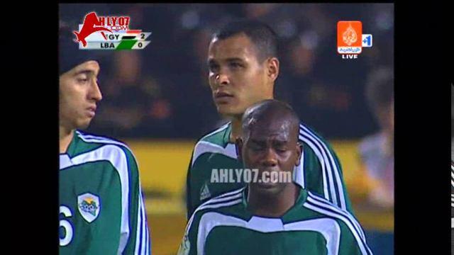 هدف منتخب مصر الثاني في ليبيا مقابل 0 تريكة أمم افريقيا 20 يناير 2006