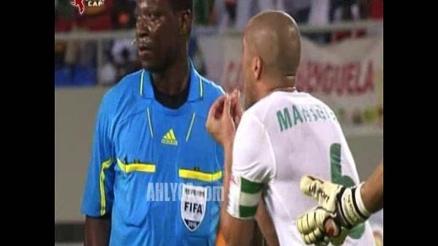 هدف منتخب مصر الأول في الجزائر مقابل 0 حسني عبد ربه أمم افريقيا 28 يناير 2010
