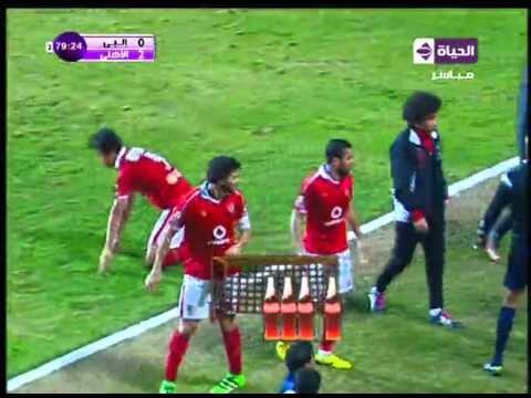 شاهد هدف الأهلي الثاني في انبي مقابل 0 مؤمن زكريا الدوري 3 فبراير 2016