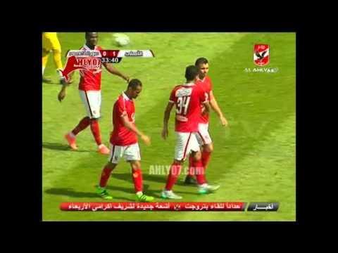 هدف الأهلي الأول في سبورت أكاديمي مقابل 0 وليد سليمان وديا 27 فبراير 2016