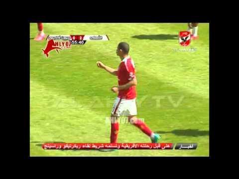 هدف الأهلي الثاني في سبورت أكاديمي مقابل 0 سعد سمير وديا 27 فبراير 2016