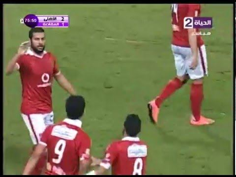 أهداف الأهلي 2 مصر المقاصة 1 رمضان وعمرو جمال الدوري 5 مارس 2016