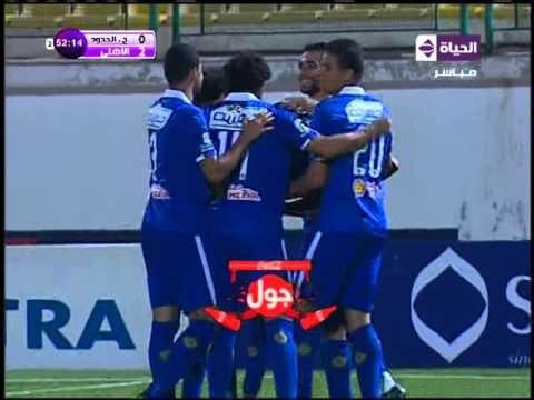 هدف الأهلي الثاني في حرس الحدود مقابل 0 مؤمن زكريا الدوري 4 مايو 2016