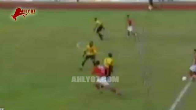 هدف فوز الأهلي 1 مقابل 0 سان ميشيل خالد بيبو إياب دور ال 16 أفريقيا 26 مايو 2001