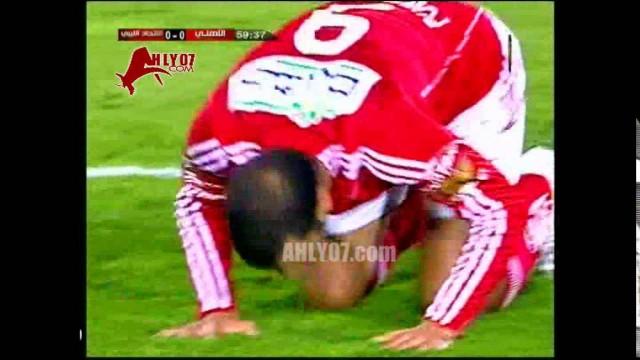هدف الأهلي الأول في الاتحاد الليبي مقابل 0 متعب افريقيا 9 مايو 2010