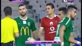 شاهد لحظة طرد سعد سمير مدافع الأهلي امام الاتحاد السكندري 3 يوليو 2016