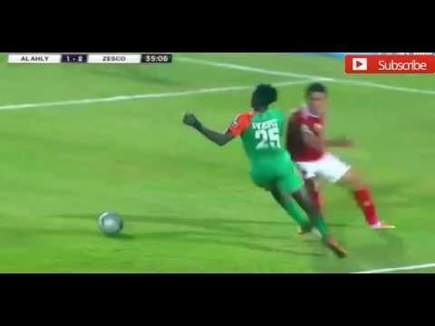 هدف زيسكو الثاني في الأهلي مقابل 1 دوري ابطال افريقيا 12 اغسطس 2016