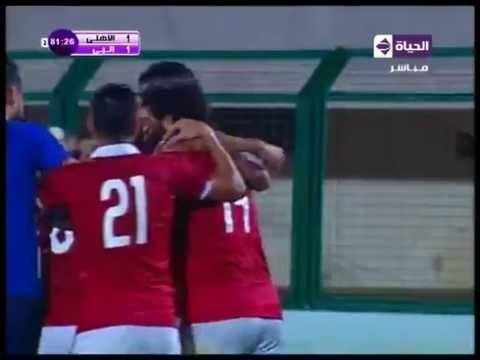 هدف الأهلي الأول في انبي مقابل 1 مؤمن زكريا قبل نهائي كأس مصر 4 أغسطس 2016