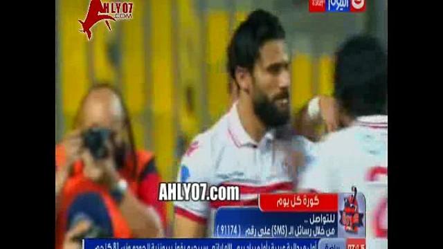شاهد مشجع يسب كريم شحاته على الهواء بسبب انحيازه ورد فعل كريم