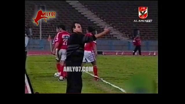 هدف الأهلي الثاني مقابل1 المعادن إبراهيم سعيد الدوري 31 أكتوبر2000