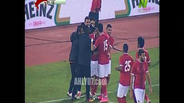 هدف الأهلي الرابع  في الألومنيوم مقابل 0 عماد متعب كأس مصر دور 32 22 ديسمبر 2016
