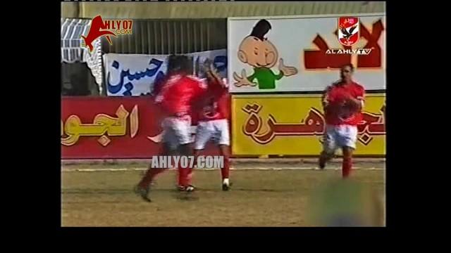 هدف الأهلي الأول مقابل 0 الشرقية علاء إبراهيم الأسبوع التاسع الدوري 17 ديسمبر 1999