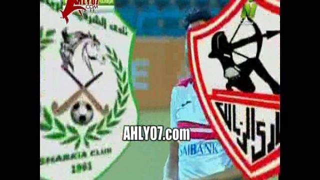 شاهد مسخرة تبرير الزمالك لارتداء محمد ابراهيم رقمين مختلفين في مباراة الشرقية والفيديو يكذبه