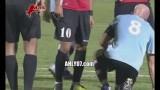 شاهد هتاف الجماهير المصرية لمحمد أبو تريكة في مباراة مصر و كندا العسكرية وطفل يهتف من المدرجات بحب تريكة