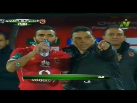 هدف الأهلي الأول في المقاولون العرب مقابل 0 عماد متعب بالدوري 19 فبراير 2017