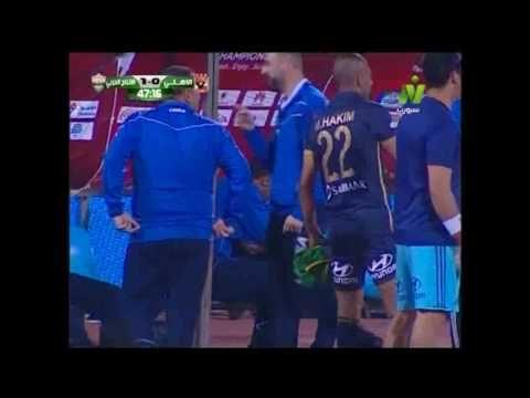 هدف الانتاج الحربي الأول في الأهلي مقابل 0 الدوري 30 ابريل 2017