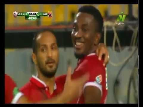 هدف الأهلي الأول في الزمالك مقابل 0 وليد سليمان الدوري 17 يوليو 2017