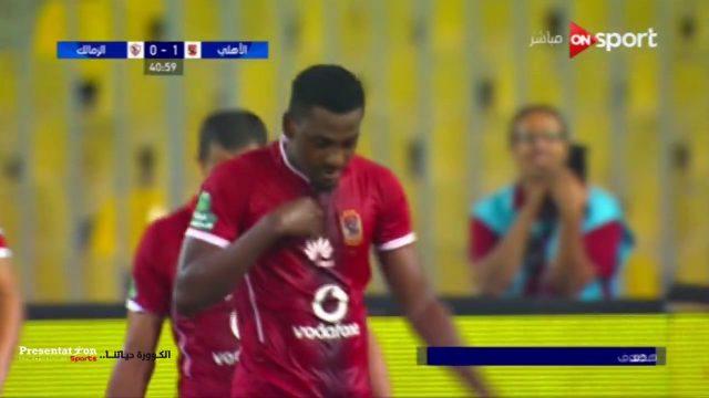 أهداف الأهلي 2 الزمالك 0 وليد سليمان و أجاي الدوري 17 يوليو 2017