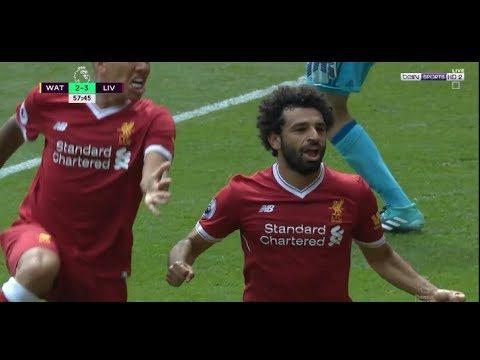 شاهد ملخص لمسات محمد صلاح الذي تم اختياره رجل مباراة ليفربول و واتفورد في أول مباراة رسمية له