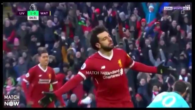 شاهد هدف محمد صلاح بعد عودته من الاصابه مع ليفربول ضد هدرسفيلد في الدوري الانجليزي