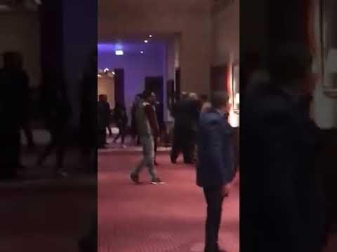 شاهد بالفيديو مواجهة نارية في حفلة سباب وشتائم بألفاظ خارجه بين مرتضى منصور وايهاب الخطيب