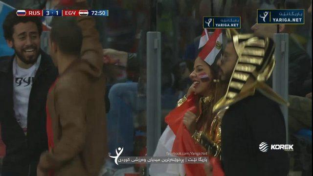 شاهد الهدف التاريخي كسر عقدة مجدي عبد الغني بعد 28 عام هدف مصر الأول في روسيا لمحمد صلاح مقابل 3 بكأس العالم 2018