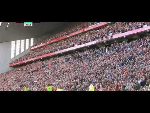 شاهد هدف محمد صلاح ليفربول في شباك برايتون بالدوري الانجليزي 25 اغسطس 2019